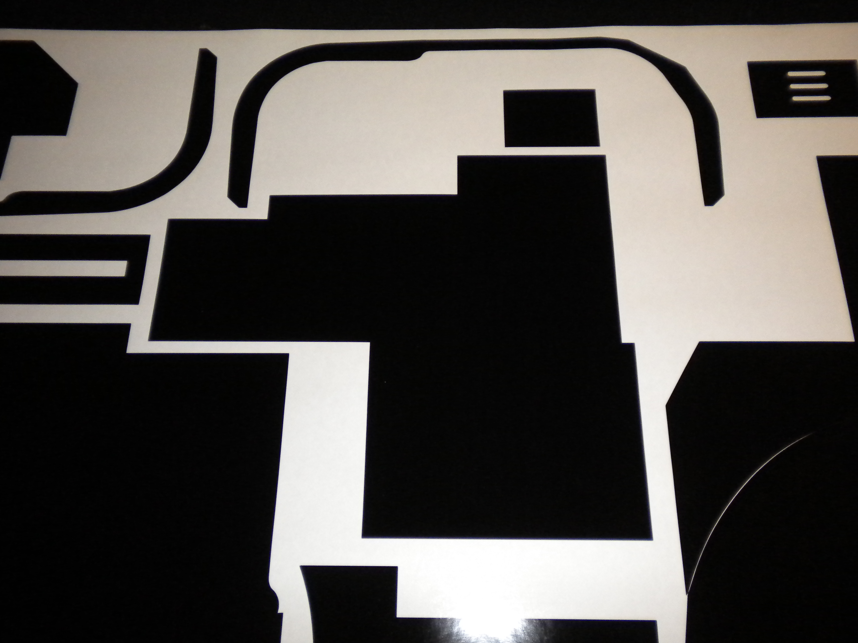 My Proton Pack Vinyl Template Scratch Build Lots Of